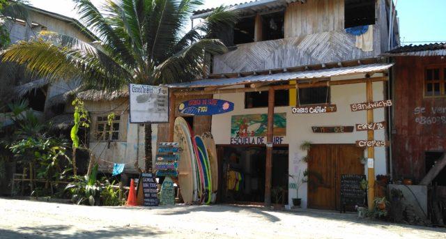 училище за сърф Еквадор