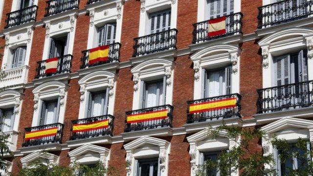 знамена Мадрид