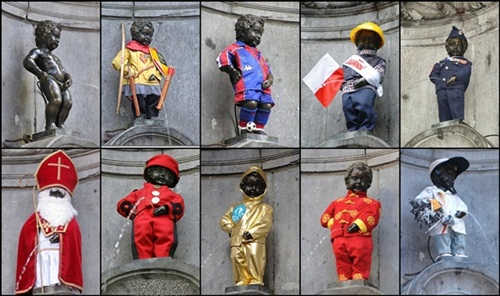 Пикаещото момченце Брюксел