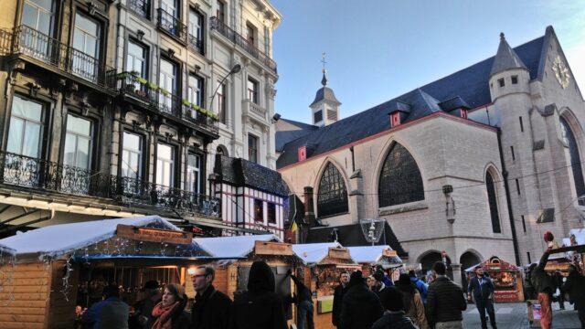 Брюксел по Коледа