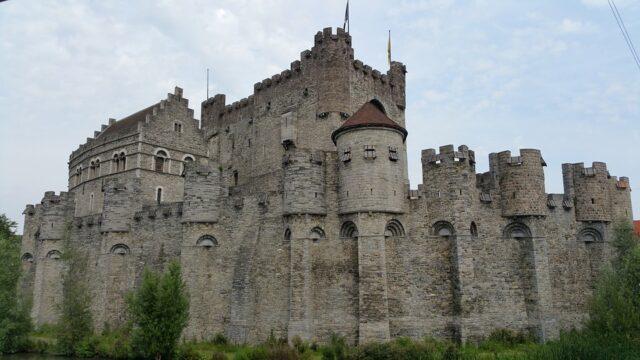 замък в Гент