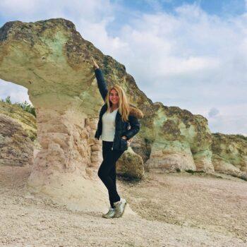 Каменните гъби край село Бели пласт