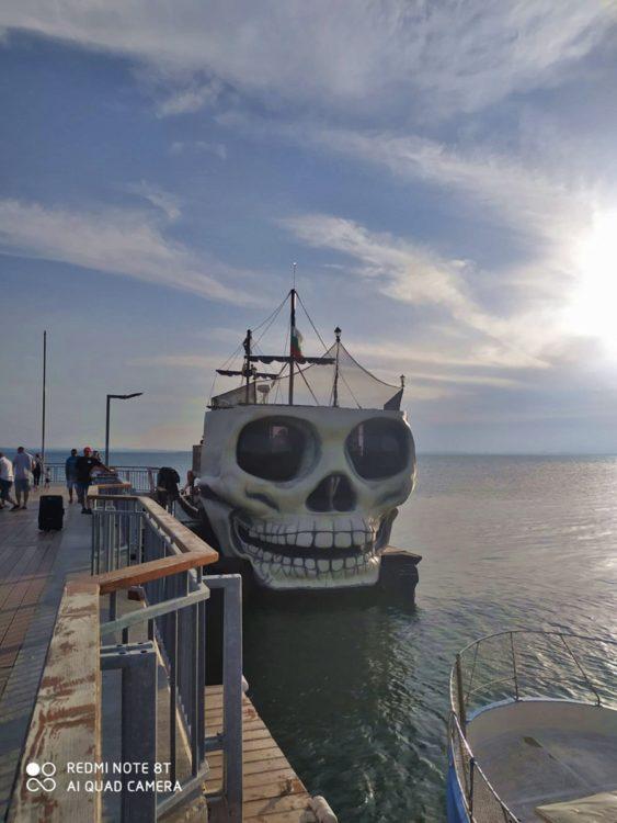 разходка с корабче в Поморие