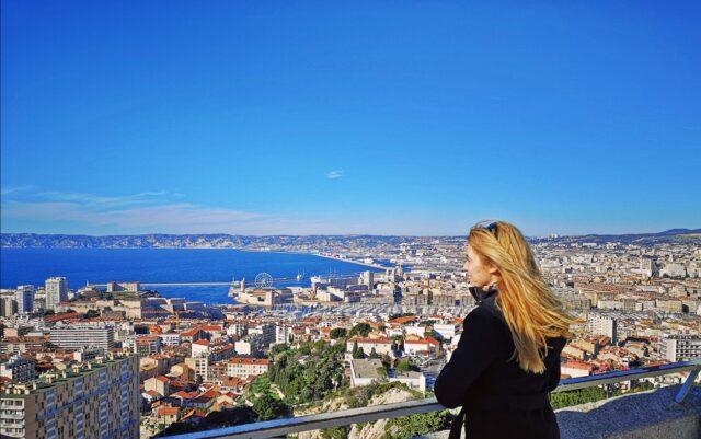 Марсилия от високо