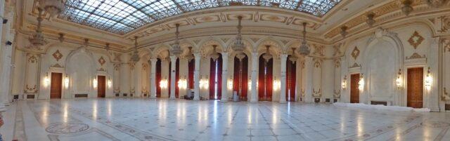 Парламента в Букурещ отвътре