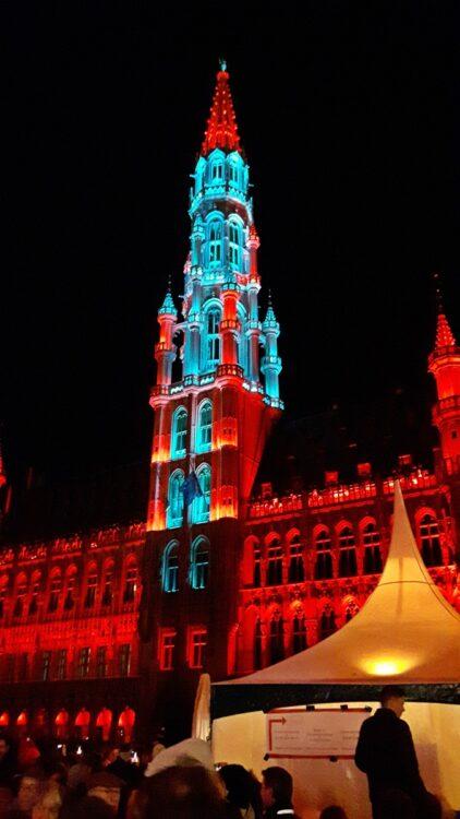светлини Брюксел
