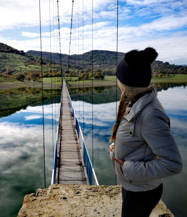 въженият мост Лисиците