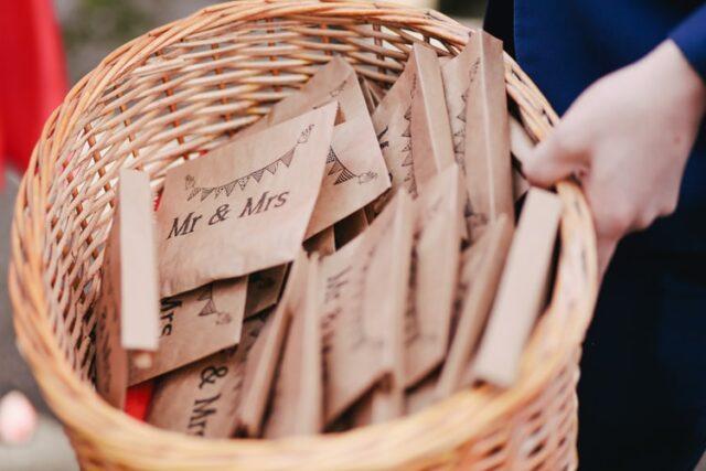 конфети за сватба