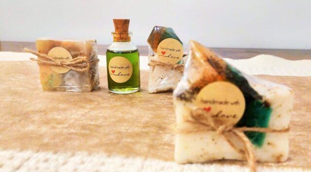 подарък за гости на сватба сапунчета