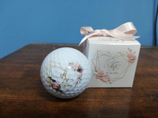 топка за голф нестандартен подарък за гости за сватба