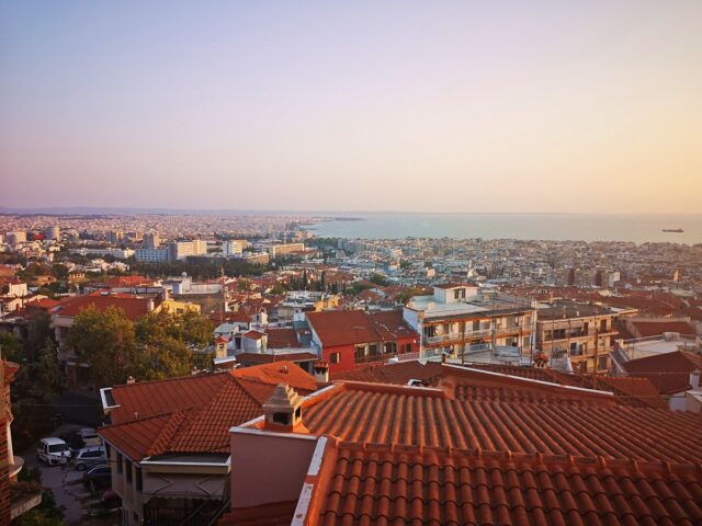гледка към Солун