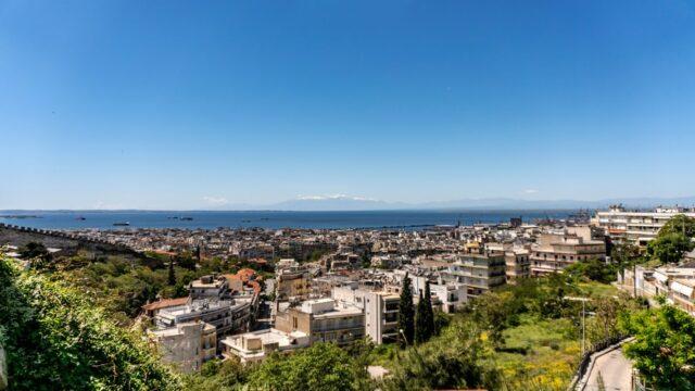 гледка над Солун