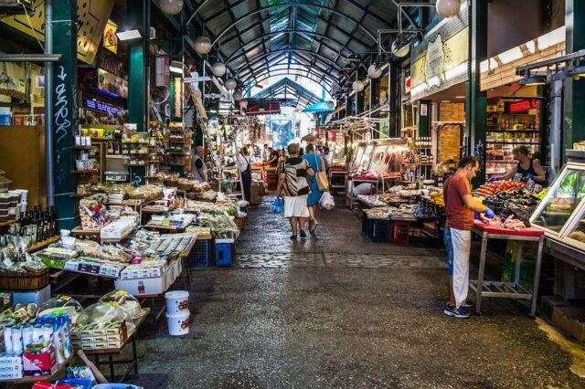 пазар в Солун
