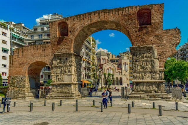 Солун Арката на Галерий