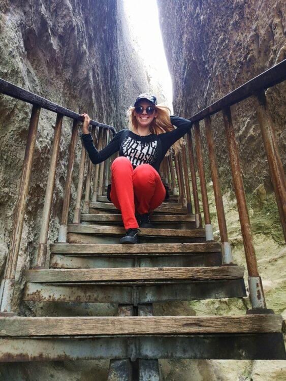 стълбище Петрич кале