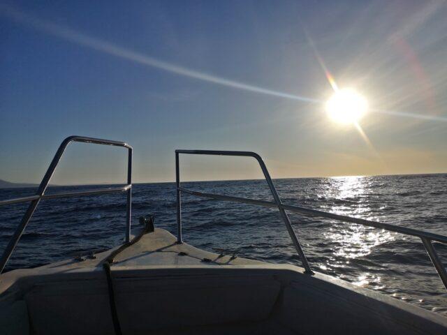 лодка в Саранда